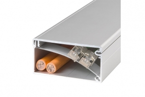 Aluminiowe korytka kablowe